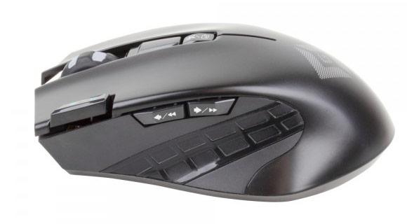 Мышь Satechi Edge работает от двух элементов AA