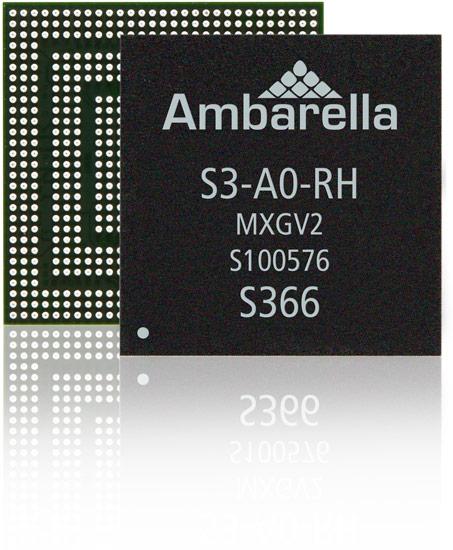Однокристальная система Ambarella S3 предназначена для IP-камер