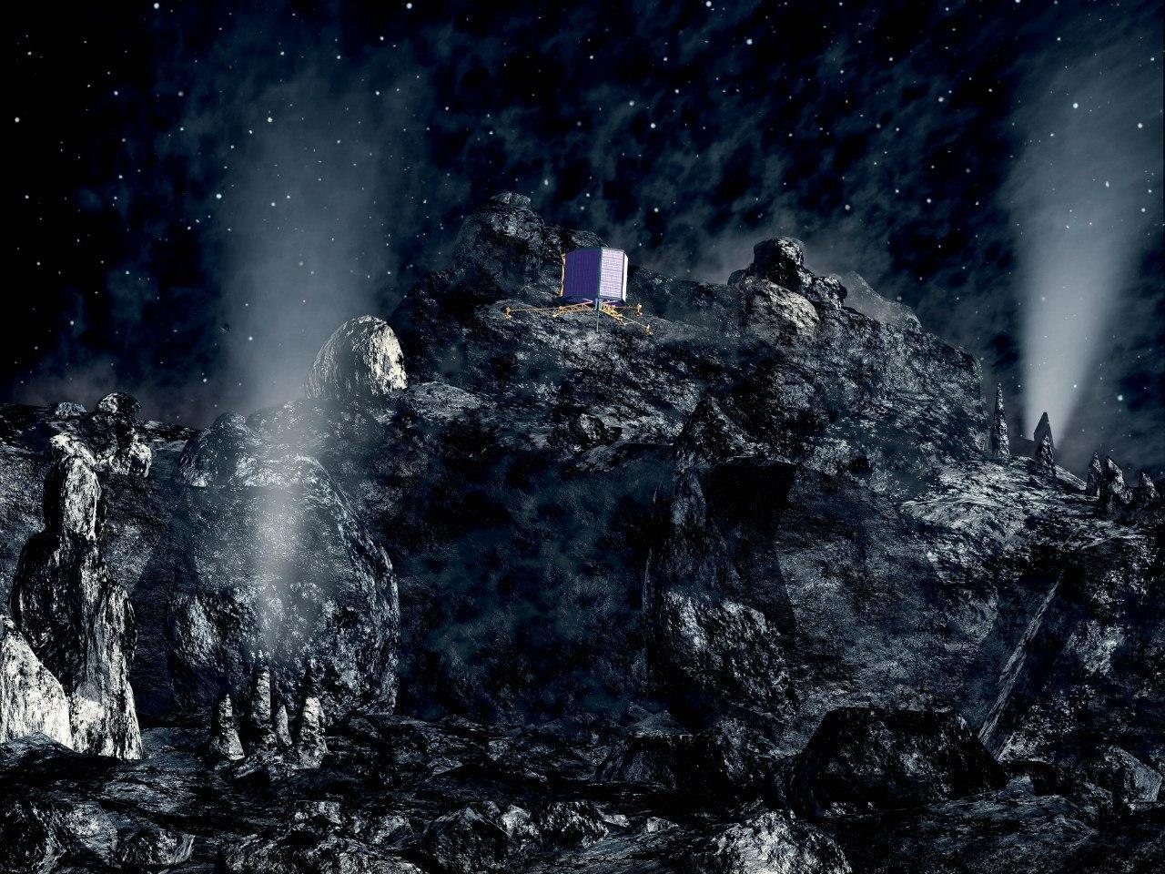 Чем пахнет комета Чурюмова Герасименко?