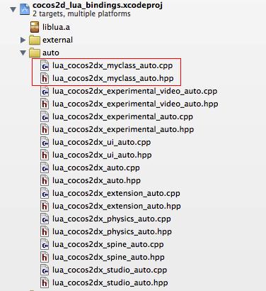 Cocos2d x: Используем собственный C++ класс в Lua