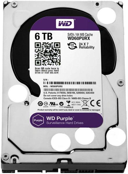 Накопители WD Purple объемом 6 ТБ будут доступны в продаже, начиная с конца ноября 2014 года