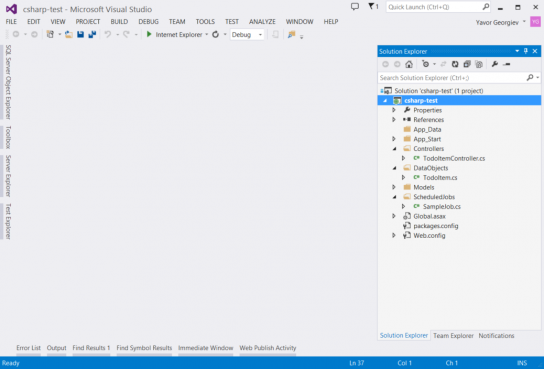 Мобильные сервисы для ASP.NET разработчиков