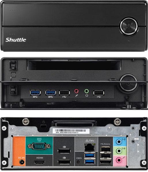 Цена Shuttle Barebone XH97V — 193 евро