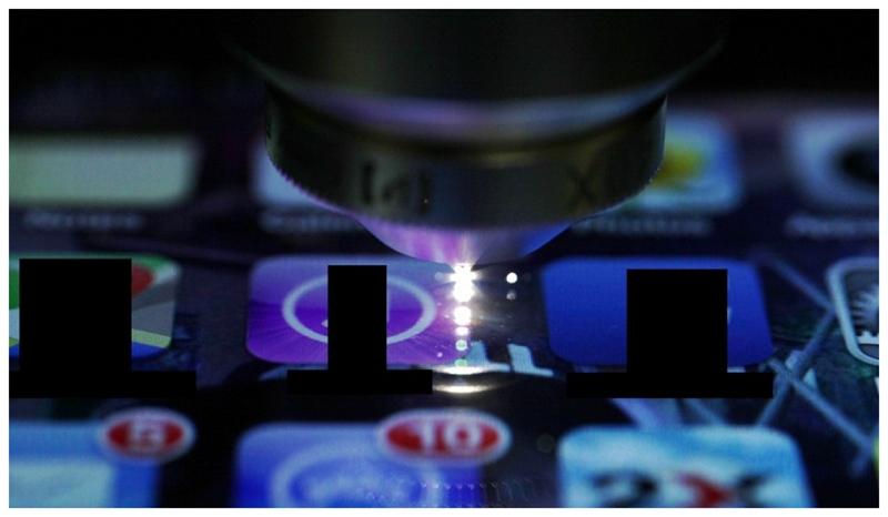 Технология внедрения датчиков в стекло смартфона