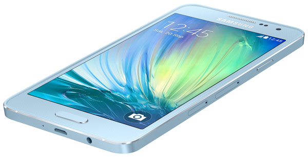 Продажи Samsung Galaxy A3 должны начаться в ноябре