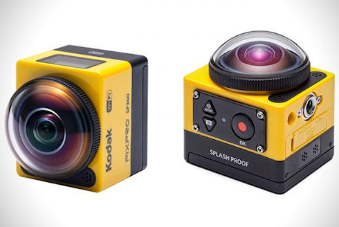 PixPro SP360 от Kodak — рай для любителей экстрима