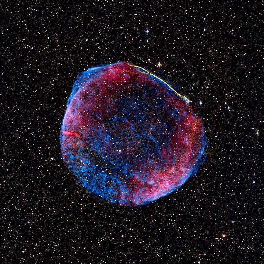 Яркая вспышка сверхновой озарила небо планеты Земля в 1006 году нашей эры