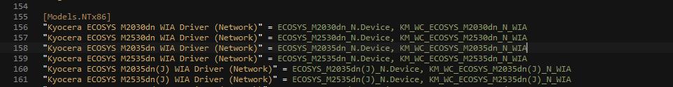 Автоматическое подключение сетевых МФУ с возможностью сканирования [Часть 2]
