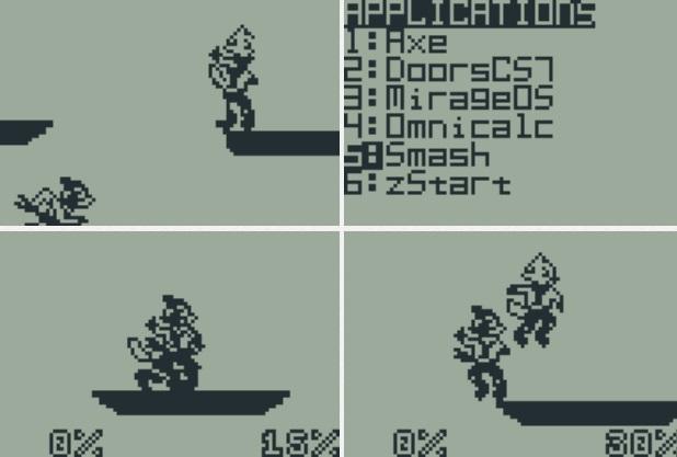 Игру Smash Bros. портировали под калькуляторы TI-83-84 - 1