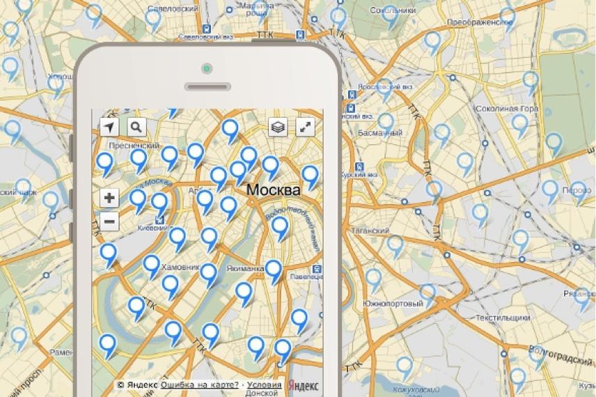 ObjectManager в API Яндекс.Карт. Как быстро отрисовать 10000 меток на карте и не затормозить всё вокруг - 1