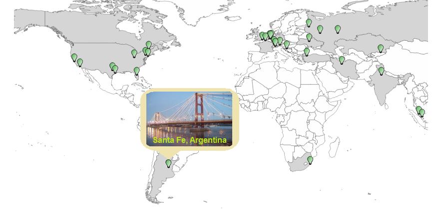 Проверьте uptime Вашего сайт из Южной Америки - 1