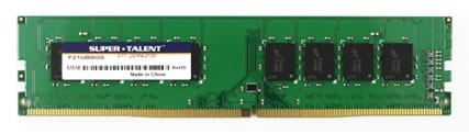Модель Super Talent F21EA4GS имеет объем 4 ГБ (512 МБ х72), F21EB8GS — 8 ГБ (1 ГБ х72)
