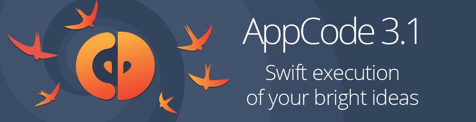 AppCode 3.1 и Swift: быстрое исполнение ваших блестящих идей - 1