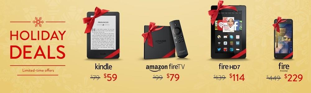 Amazon предлагает планшеты, «читалки» и смартфон по сниженной цене - 1