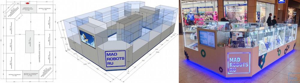 Как мы открывали магазин в ТЦ МЕГА: история ошибок - 1