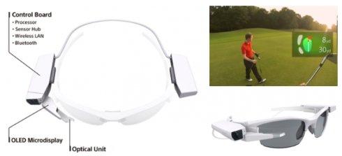 Sony представила конкурента Google Glass