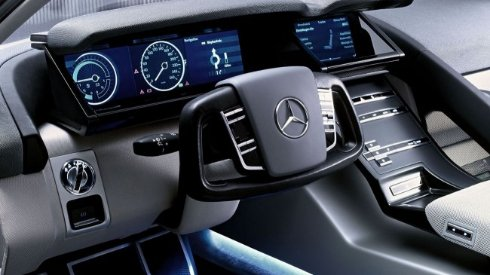 LG подключится к созданию беспилотных автомобилей Mercedes Benz
