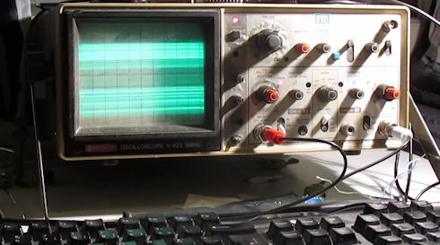 Игру Quake запустили на осциллографе