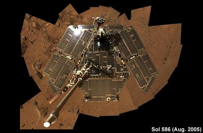 На Земле готовят патч для марсохода «Оппортьюнити» - 1