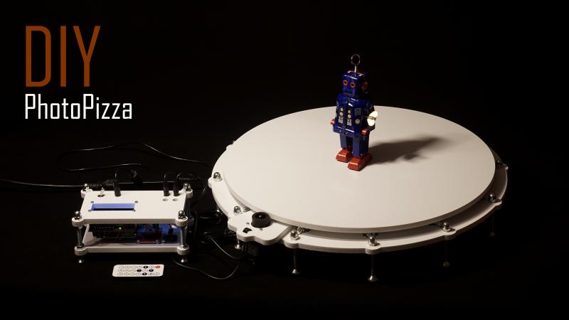DIY Поворотный столик для 3D-сканирования и съемки фото-360 - 1