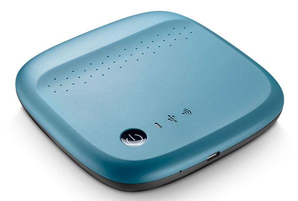 Накопитель Seagate Wireless предназначен для использования совместно с мобильными устройствами