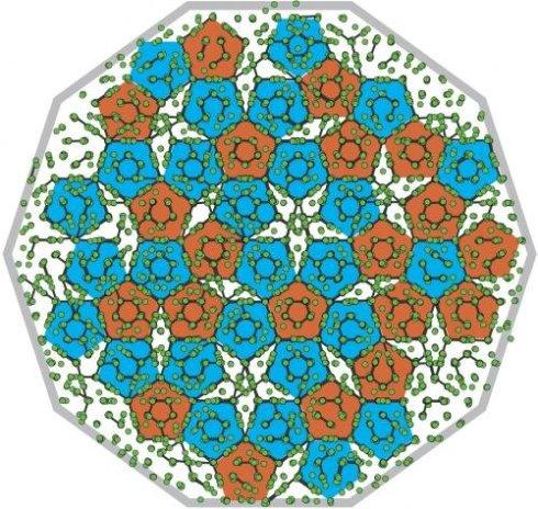 Создана математическая модель самого сложного из известных кристаллов