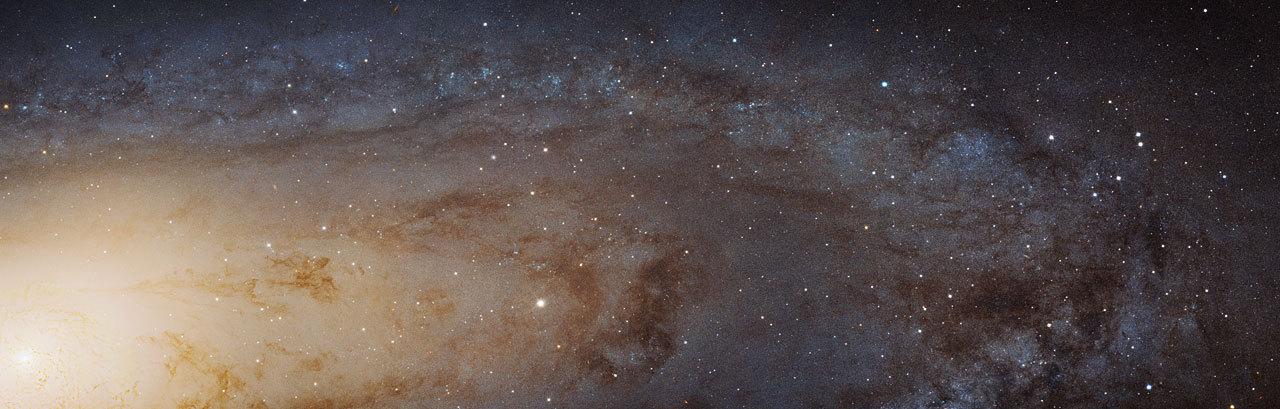Самая большая фотография туманности Андромеды от телескопа «Хаббл» - 1