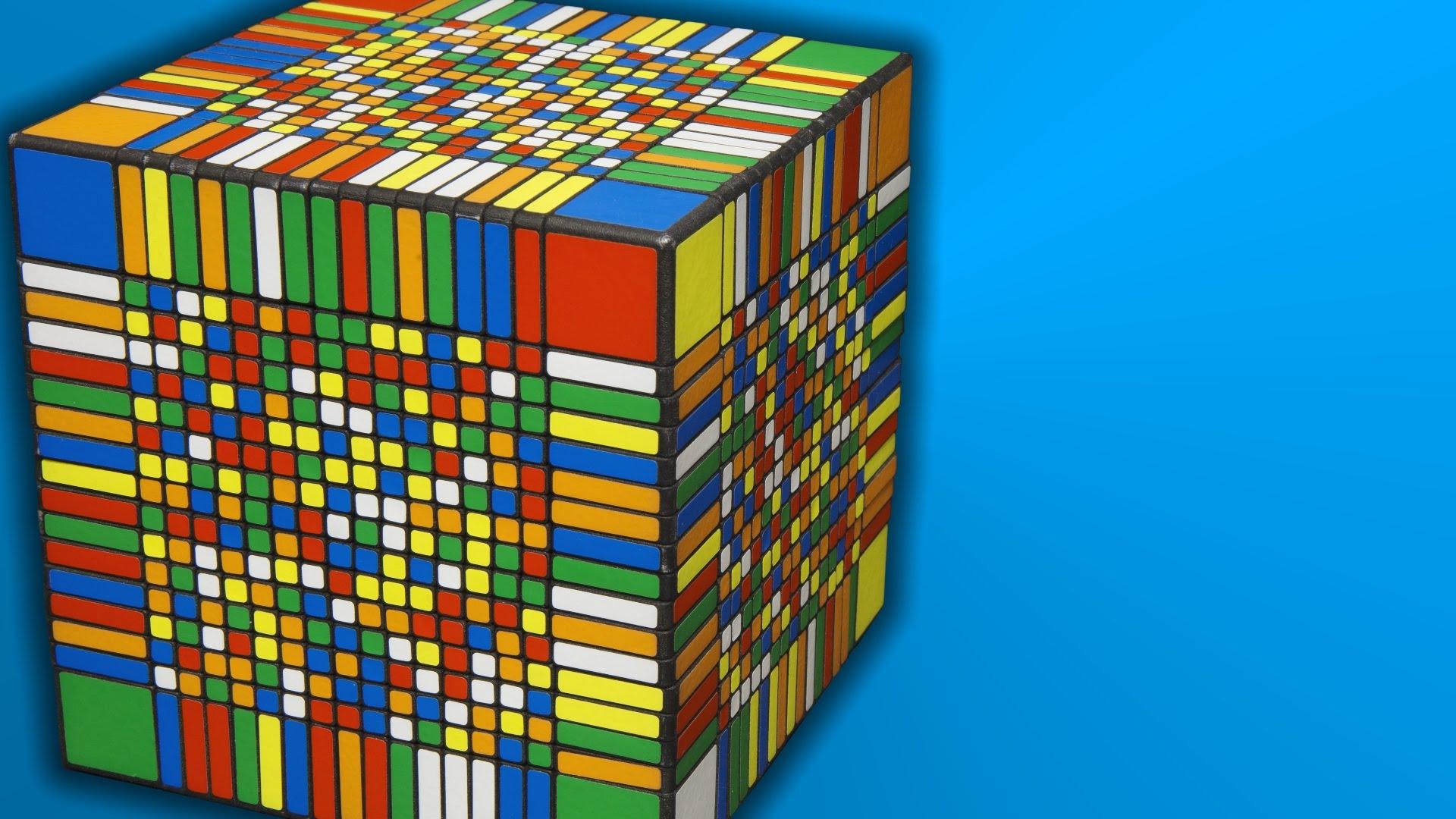 Самый большой кубик Рубика в мире: на решение головоломки требуется 7,5 часов - 1