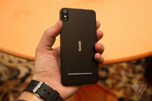 Kodak показала свой первый смартфон