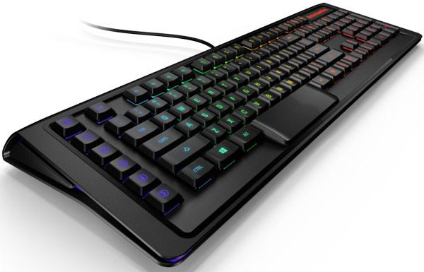Механическая клавиатура SteelSeries Apex M800 ориентирована на любителей игр