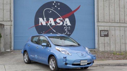 NASA и Nissan займутся созданием беспилотных автомобилей