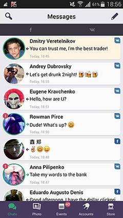 FLiPSi — одно приложение для переписки во всех социальных сетях - 1