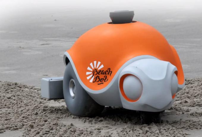 В Disney создали робота, умеющего рисовать картинки на песке - 1