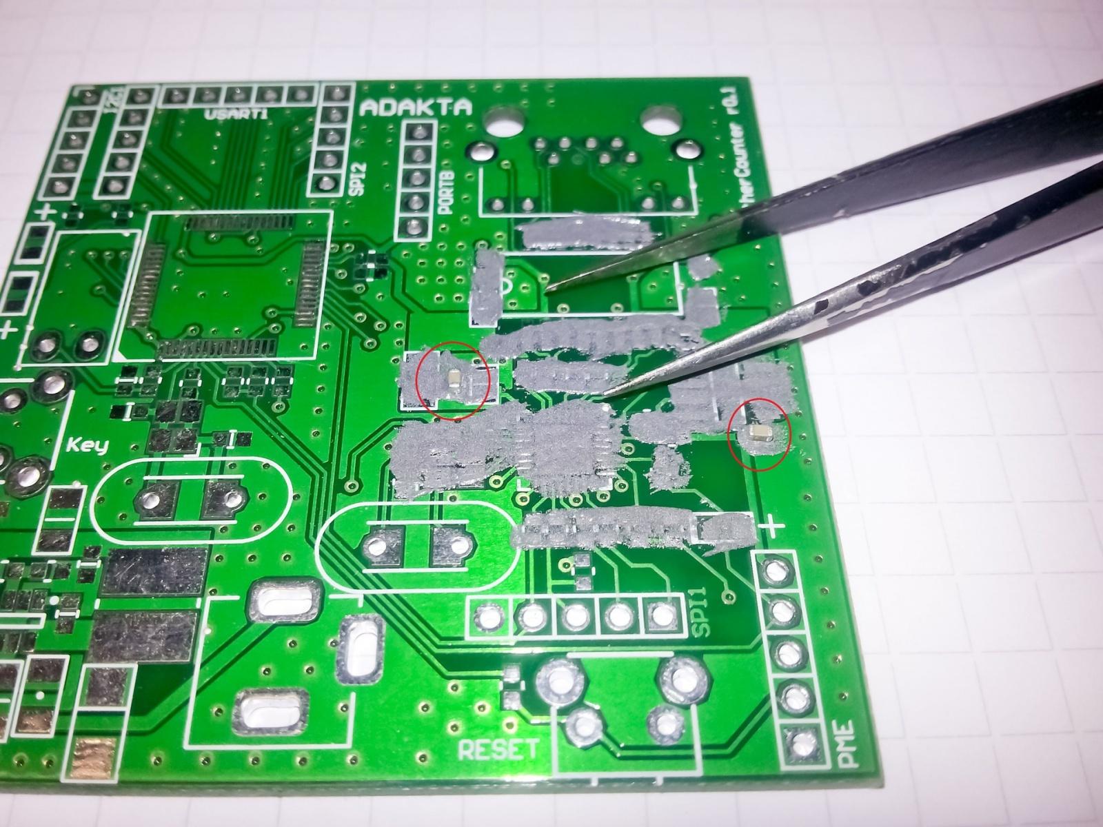 Ручной монтаж сложных плат на компонентах 0402, 0603, QFN, LQFP и THT - 10