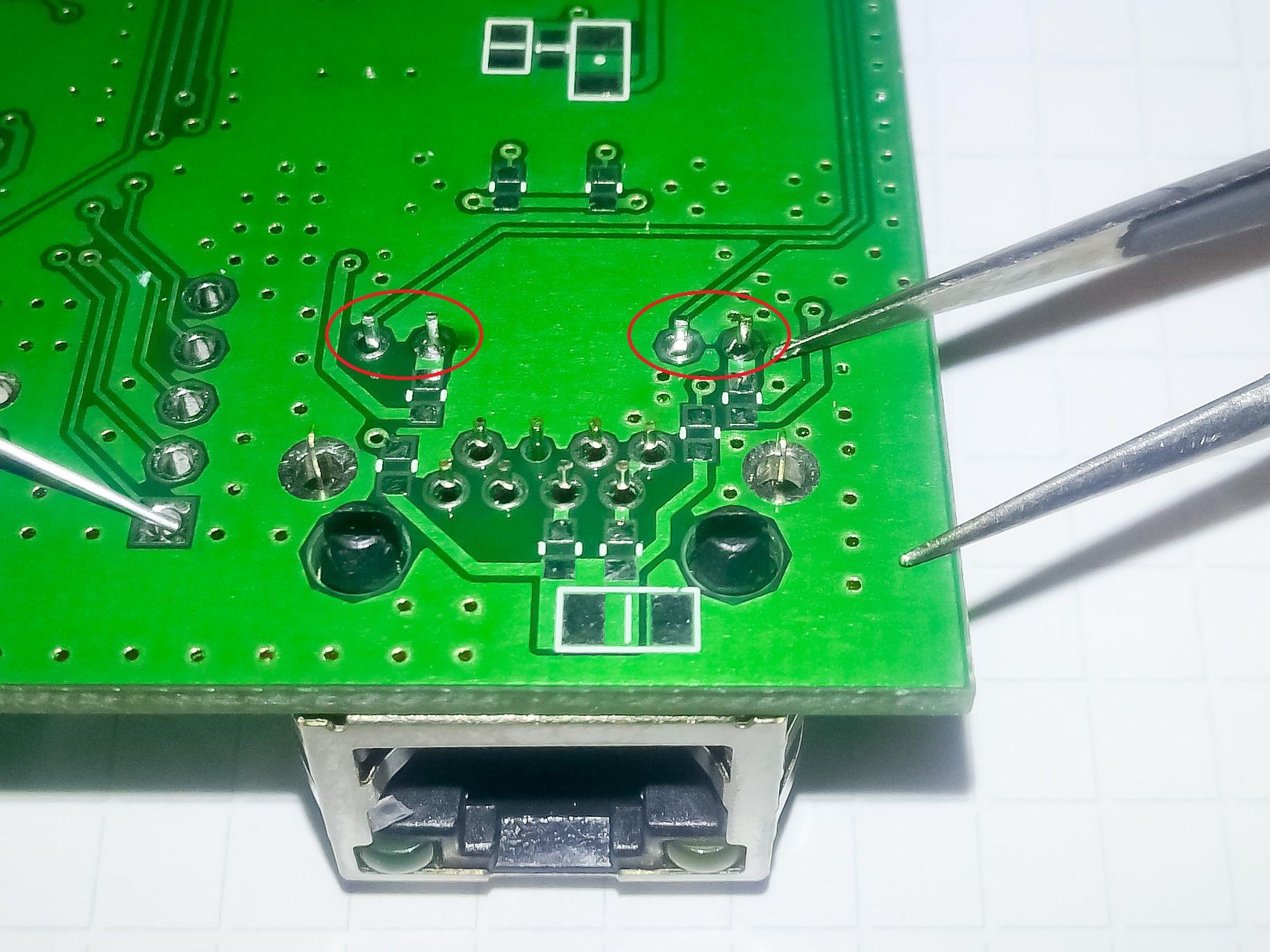 Ручной монтаж сложных плат на компонентах 0402, 0603, QFN, LQFP и THT - 16