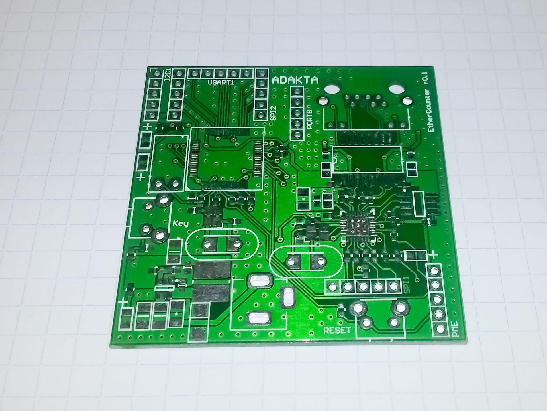 Ручной монтаж сложных плат на компонентах 0402, 0603, QFN, LQFP и THT - 5