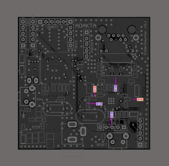 Ручной монтаж сложных плат на компонентах 0402, 0603, QFN, LQFP и THT - 8