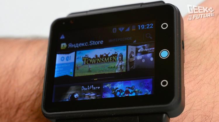 Neptune Pine: смартфон, надевающийся на руку - 12