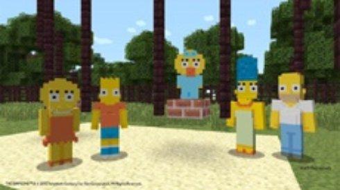 Семейка Симпсонов дополнит Minecraft