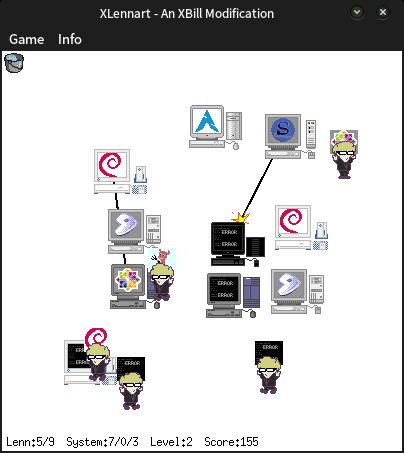 Игра про автора systemd — Леннарта Поттеринга - 3