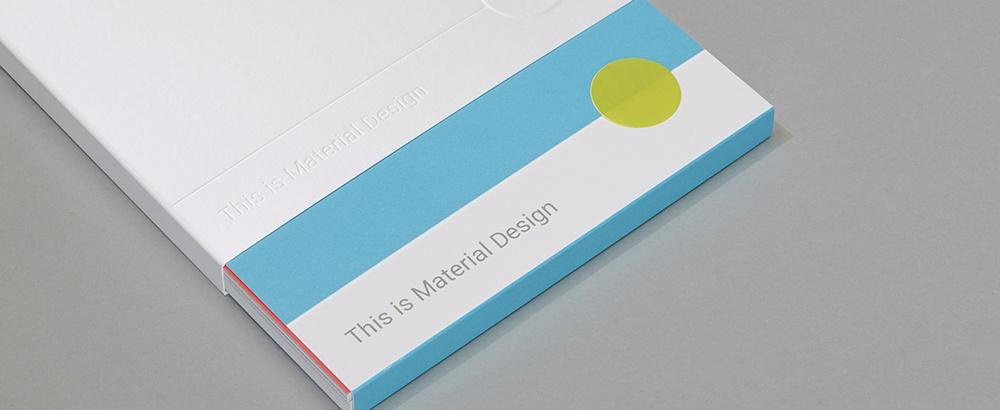 Видео. Основные принципы Material Design - 1