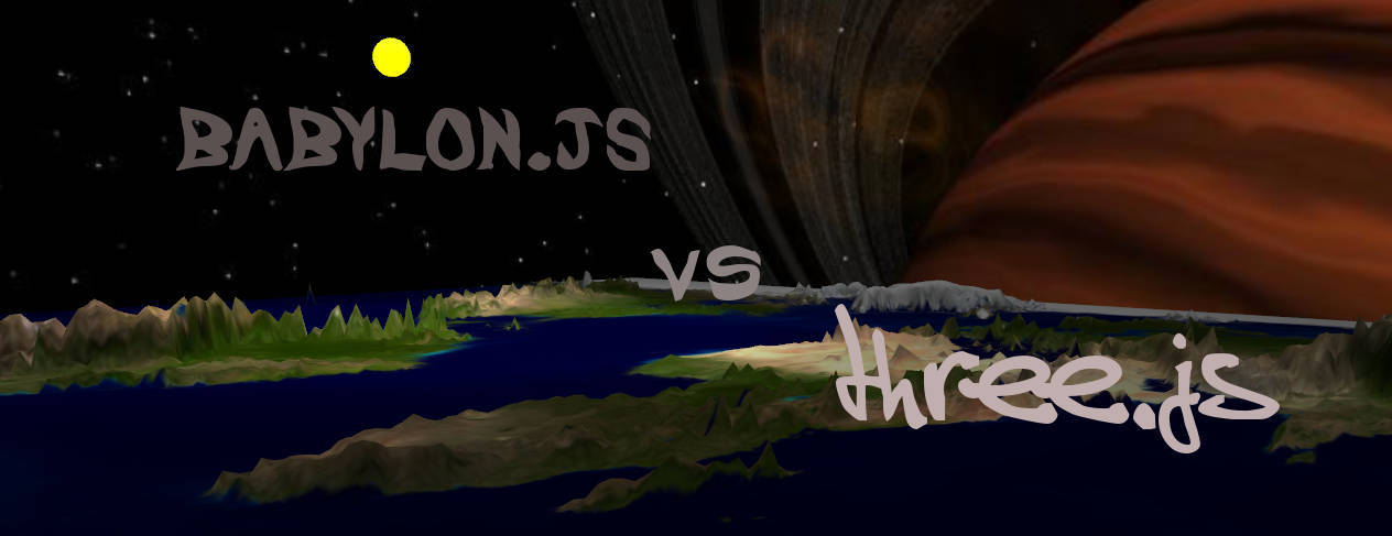Игровой мир WebGL или Three.js vs Babylon.js - 1