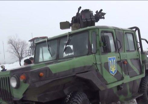 Украинская армия испытала новое вооружение (ВИДЕО)