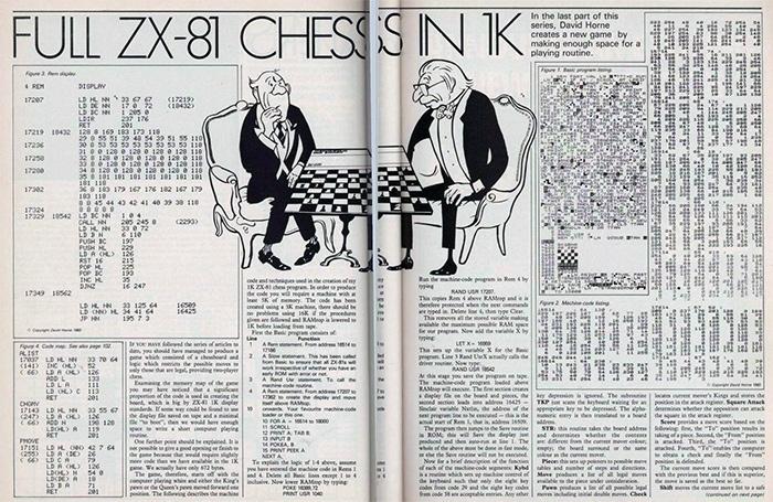 Компьютерные шахматы в 487 байтах - 1