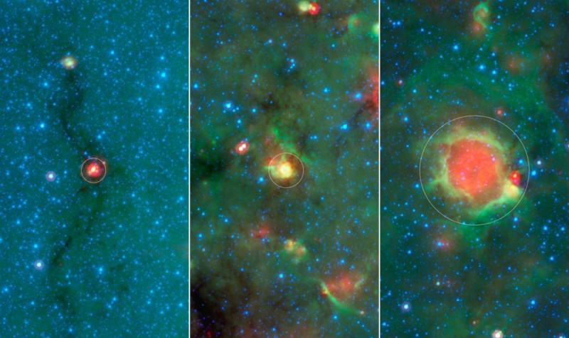 Краудсорсинг помог найти «жёлтые шары» — новый тип космических объектов - 2
