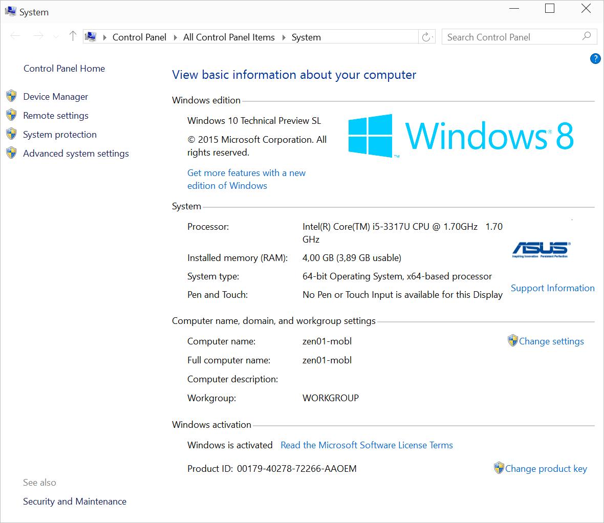 Обновление с Windows 7-8.1 до Windows 10 TP через Windows Update - 18