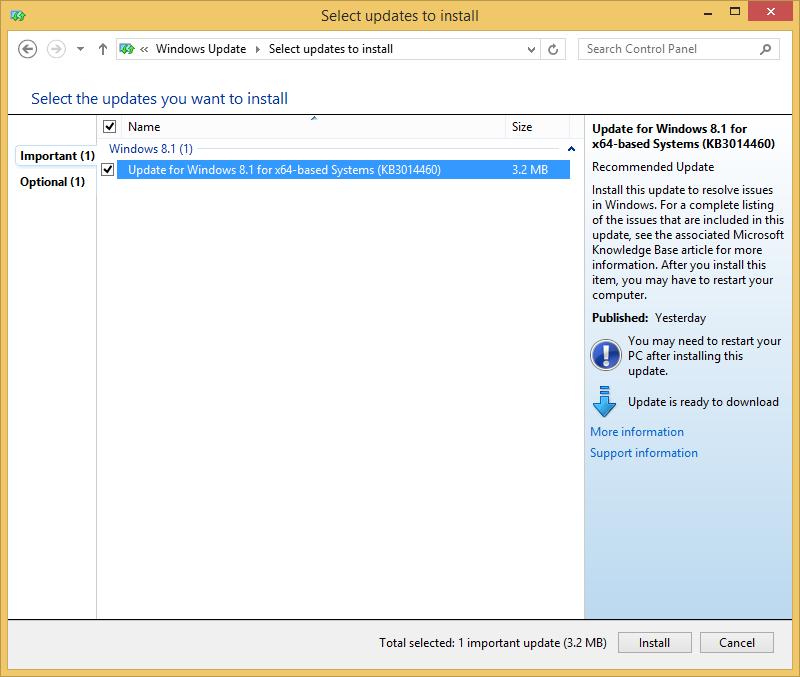 Обновление с Windows 7-8.1 до Windows 10 TP через Windows Update - 7