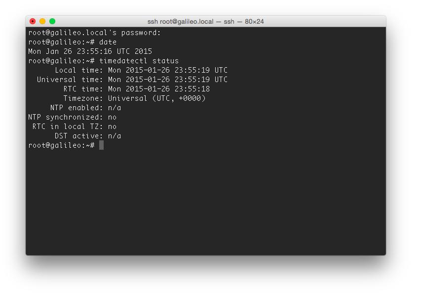 Практикум «Intel IoT». Galileo Gen2 — Linux & Arduino - 5