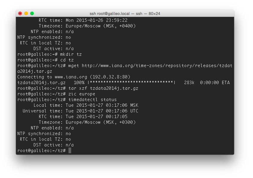 Практикум «Intel IoT». Galileo Gen2 — Linux & Arduino - 7