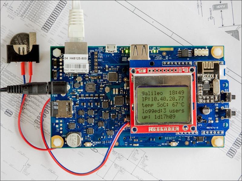 Практикум «Intel IoT». Galileo Gen2 — Linux & Arduino - 1
